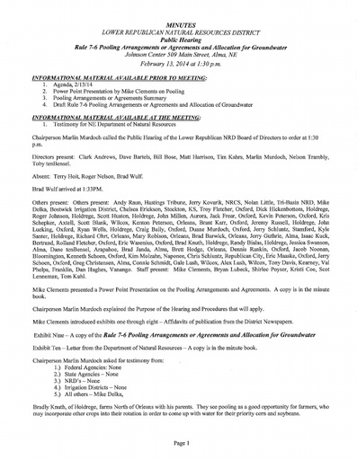 02-13-14 Public Hearing Minutes